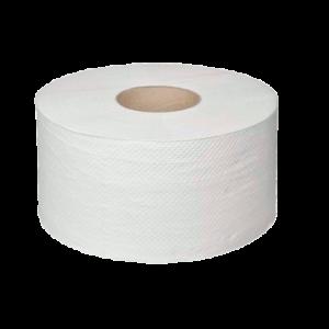Туалетная бумага 2 х слойная 200 м для диспенсера белая целлюлоза купить в Воронеже, КОРРАД