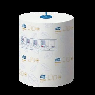 Полотенца бумажные в рулонах Tork Premium Soft Н1 290016 купить в Воронеже по низкой цене, КОРРАД