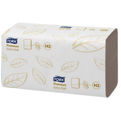 Полотенца бумажные листовые Tork Premium H3 100278 ZZ-сложения 2-слойные купить в Воронеже, КОРРАД