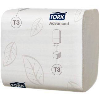 Туалетная бумага листовая Tork Advanced Т3 114271 2-слойная купить в Воронеже, КОРРАД