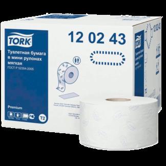 Туалетная бумага в рулонах Tork Premium T2 120243 2-слойная купить в Воронеже, КОРРАД