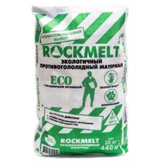 Противогололедный реагент Rockmelt Eco 20 кг купить в Воронеже, КОРРАД