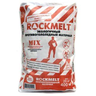 Rockmelt Mix реагент противогололедный 20 кг купить в Воронеже, КОРРАД