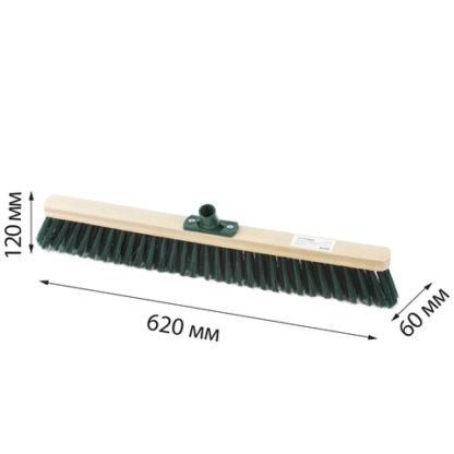Щетка для уборки техническая 60 см мягкая щетина 8 см