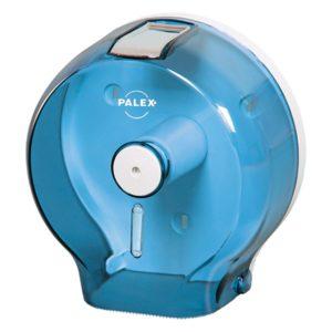 Диспенсер Palex для туалетной бумаги JUMBO прозрачно синий 3444-1