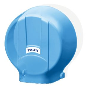Диспенсер для туалетной бумаги JUMBO-STANDART прозрачно синий 3448-1