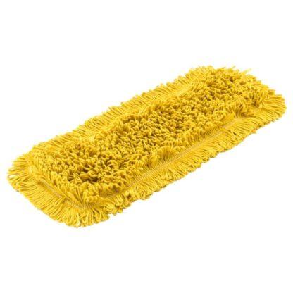 Моп плоский х/б для влажной уборки 40 см желтый