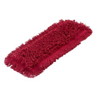 Моп плоский х/б для влажной уборки 40 см красный