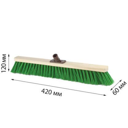 Щетка для уборки техническая 40см мягкая щетина 7 см
