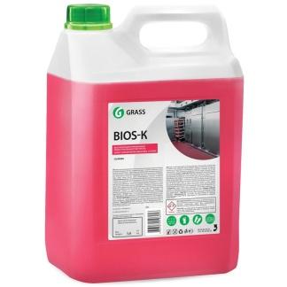 Bios-K 5.6 кг Профессиональное концентрированное щелочное моющее средство Grass