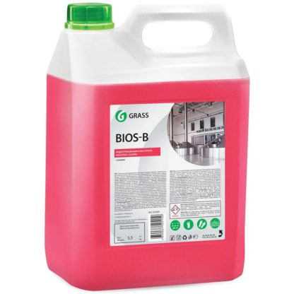 Bios-B 5.5 кгПрофессиональное концентрированное щелочное моющее средство Grass