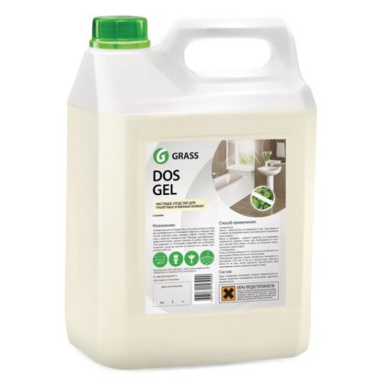 Dos Gel 5.3 кг Профессиональное средство для сантехники Grass