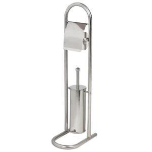 Напольный держатель для туалетной бумаги и ерша