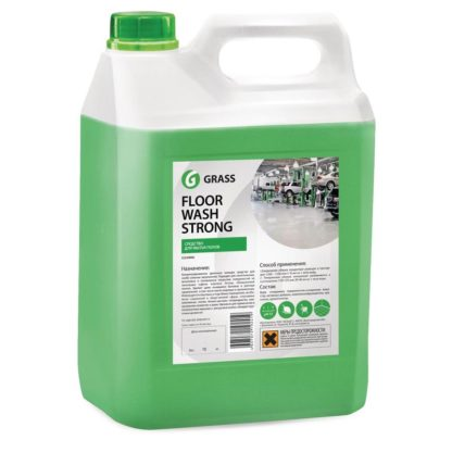 Floor Wash Strong 5.6 кг Профессиональное средство для мытья пола Grass