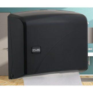 Диспенсер K1B Vialli для бумажных полотенец Z черный