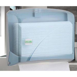 Диспенсер K1T Vialli для бумажных полотенец Z прозрачный