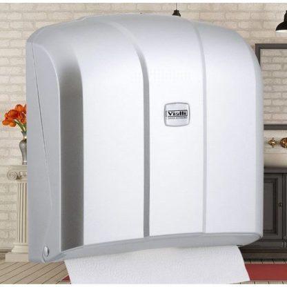 Диспенсер для бумажных полотенец Z-сложения белый AEHB905