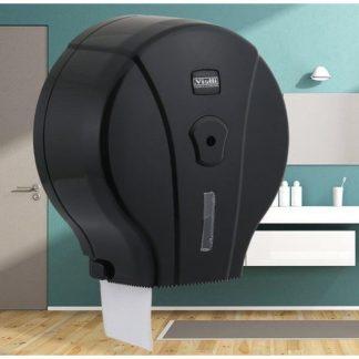 Диспенсер для туалетной бумаги Vialli (Виалли) MJ1B черный