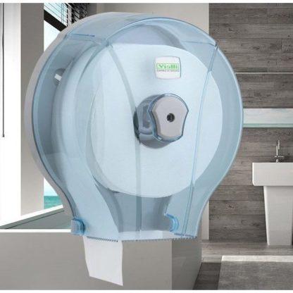 Диспенсер для туалетной бумаги Vialli (Виалли) MJ1T прозрачный