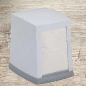 Диспенсер настольный для салфеток Vialli (Виалли) NP80 белый