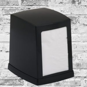 Диспенсер настольный для салфеток Vialli (Виалли) NP80B черный