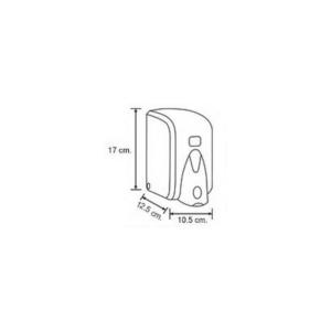 Диспенсер для жидкого мыла Vialli (Виали) S5 500мл. белый