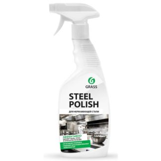 Steel Polish для нержавеющей стали 600 мл Средство для чистки металла Grass