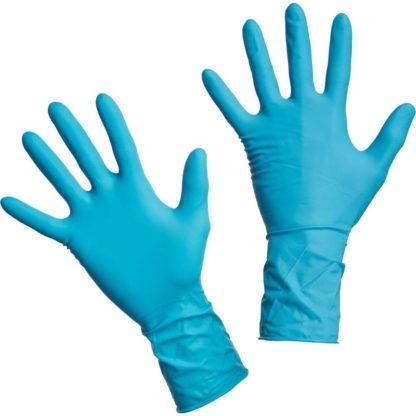 Перчатки латексные повышенной прочности медицинские, размер M, 1 пара