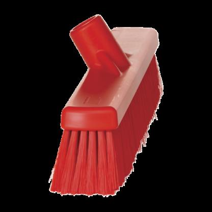 Щетка для подметания пола мягкая, 410 мм, Мягкий, красный цвет