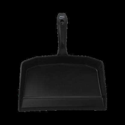Совок для мусора, 330 мм, черный цвет