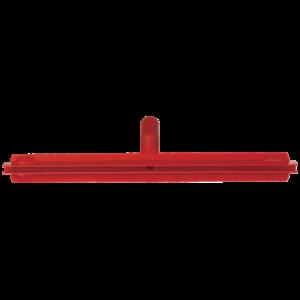 Гигиеничный сгон с подвижным креплением и сменной кассетой, 500 мм, красный цвет