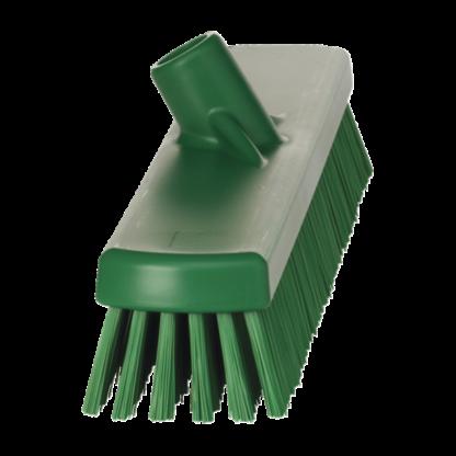 Щетка для мытья полов и стен, 470 мм, Жесткий, зеленый цвет