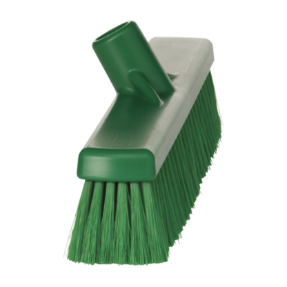 Щетка для подметания пола мягкая, 410 мм, Мягкий, зеленый цвет