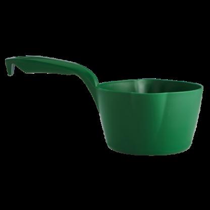 Круглый ковш, 1 л, зеленый цвет