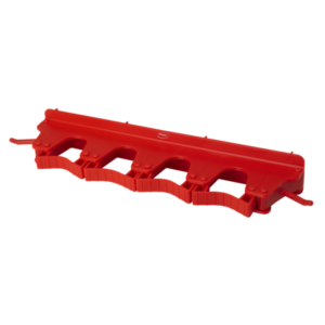 Настенное крепление для 4-6 предметов, 395 мм, красный цвет