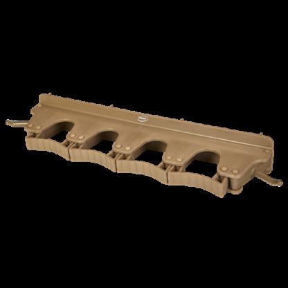 Настенное крепление для 4-6 предметов, 395 мм, коричневый цвет