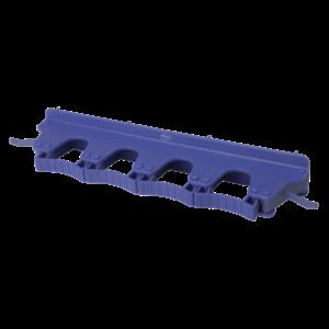 Настенное крепление для 4-6 предметов, 395 мм, фиолетовый цвет
