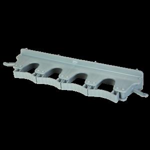 Настенное крепление для 4-6 предметов, 395 мм, серый цвет