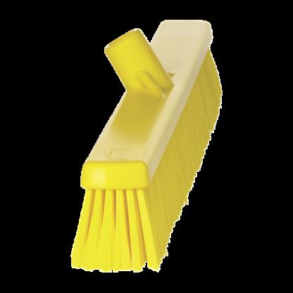 Щетка   для подметания с комбинированным ворсом, 610 мм, Мягкий/жесткий, желтый цвет
