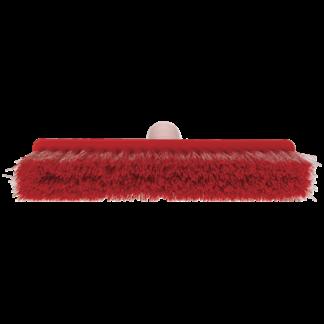 Щетка для подметания мягкая, 260 мм, Мягкий/жесткий, красный цвет