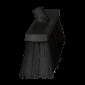 Щетка для подметания сверхпрочная, 530 мм, Очень жесткий, черный цвет