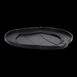 Крышка для ведра, 12 л, черный цвет