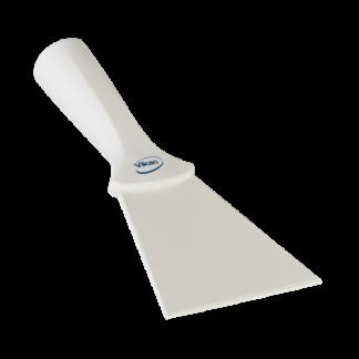 Нейлоновый скребок с винтовой ручкой, 100 мм, белый цвет