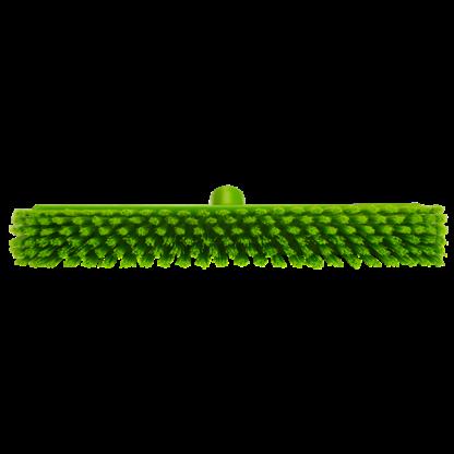 Щетка   для подметания с комбинированным ворсом, 410 мм, Мягкий/жесткий, Лаймовый