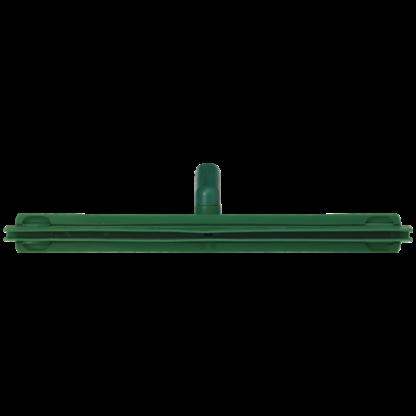 Гигиеничный сгон с подвижным креплением и сменной кассетой, 500 мм, зеленый цвет