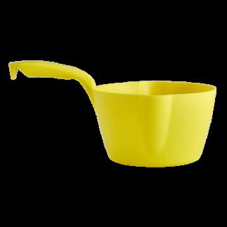 Круглый ковш, 2 л, желтый цвет