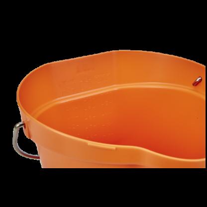 Ведро, 12 л, оранжевый цвет