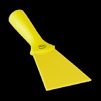 Нейлоновый скребок с винтовой ручкой, 100 мм, желтый цвет
