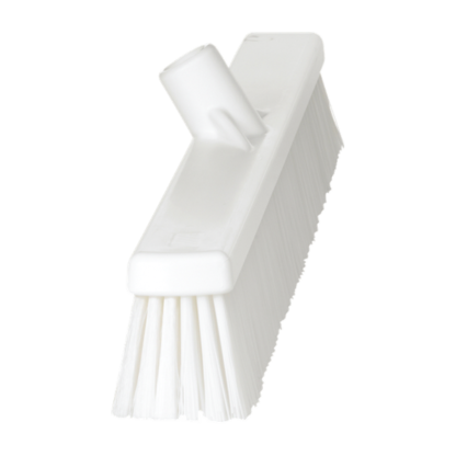 Щетка   для подметания с комбинированным ворсом, 610 мм, Мягкий/жесткий, белый цвет