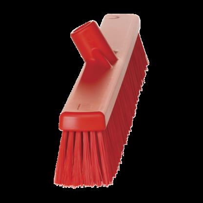 Щетка   для подметания с комбинированным ворсом, 610 мм, Мягкий/жесткий, красный цвет